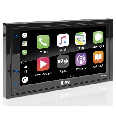 "BOSS Audio BVCP9685A Double DIN Android/Apple Smartphone Bluetooth 6.5"" LCD Touchscreen Display Vehicle Multimedia Player w/ Multi-Color Illumination"