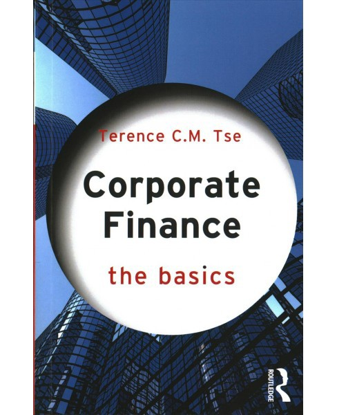 Corporate Finance (Paperback) (Terence C. M. Tse) - image 1 of 1