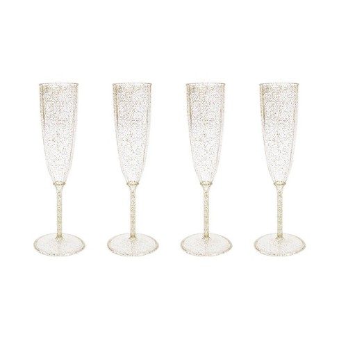 4ct Gold Champagne Flute - Spritz™ - image 1 of 2