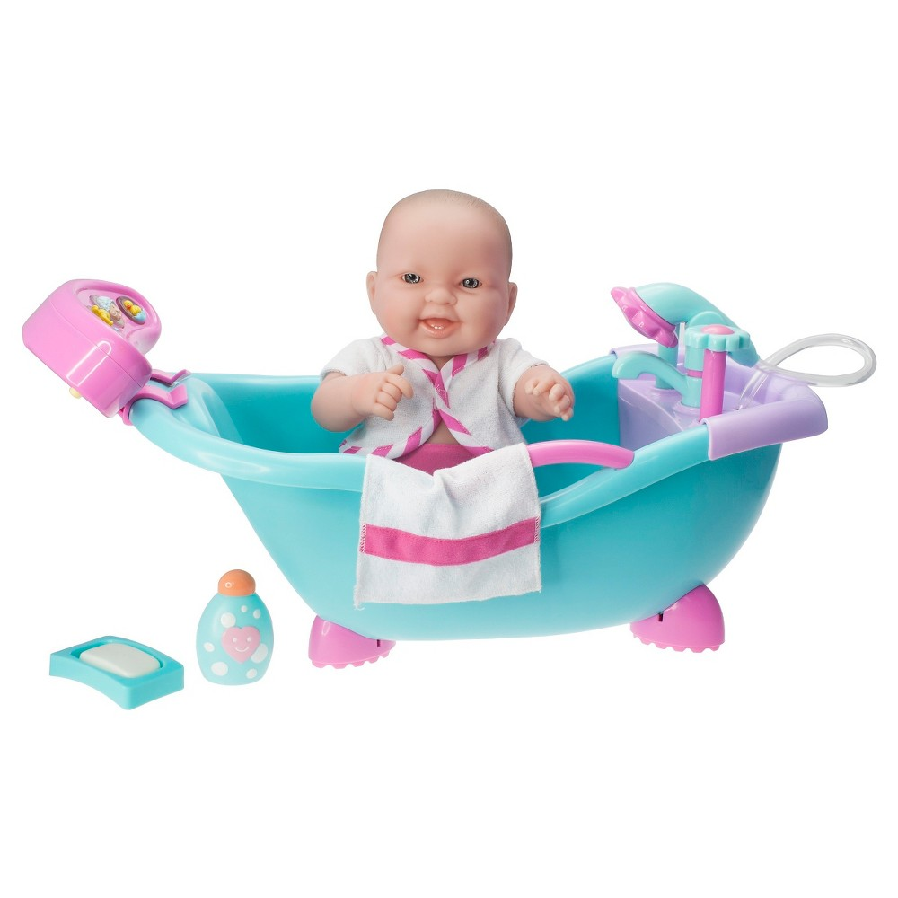 JC Toys 14 Washable Lots to Love Baby Doll - Real Working Bathtub with Electronic Bath Sounds Get ready for hours of imaginative play with this beautiful doll playset from JC Toys, perfect for little ones aged 2 years and up. Gender: Female.