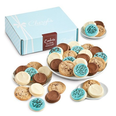 Cheryl's Cookies Cookies to the Rescue Gift Box Classic Cookie Gift Assortment (24 Cookies)