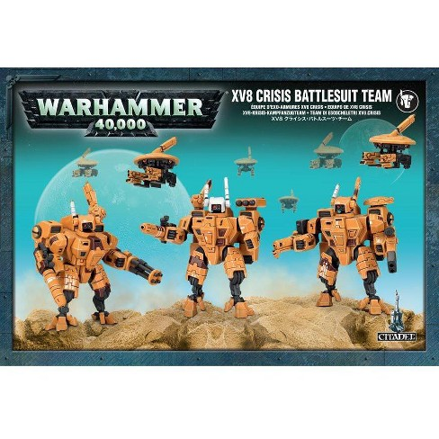 Warhammer XV8 Crisis Battlesuit Team (2012 Edition) Miniatures Box Set - image 1 of 1