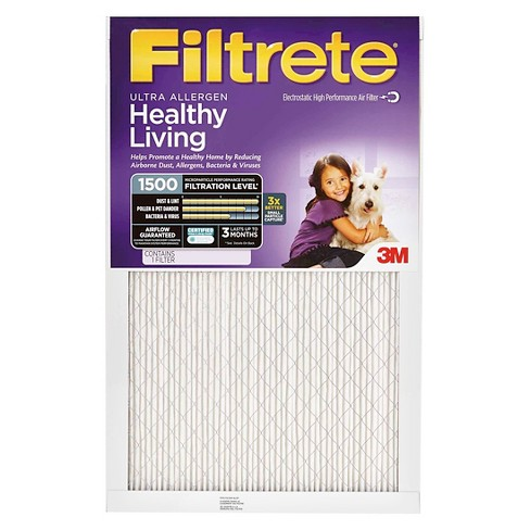 Filtrete™ Ultra Allergen 20x30x1, Air Filter, 2/Pack - image 1 of 2