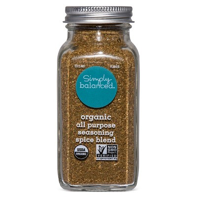 Organic All Purpose Seasoning Spice Blend - 2.36oz - Simply Balanced™