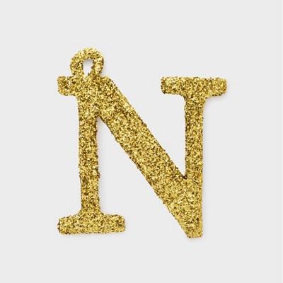 Glitter Monogram Ornament Topper - Sugar Paper™