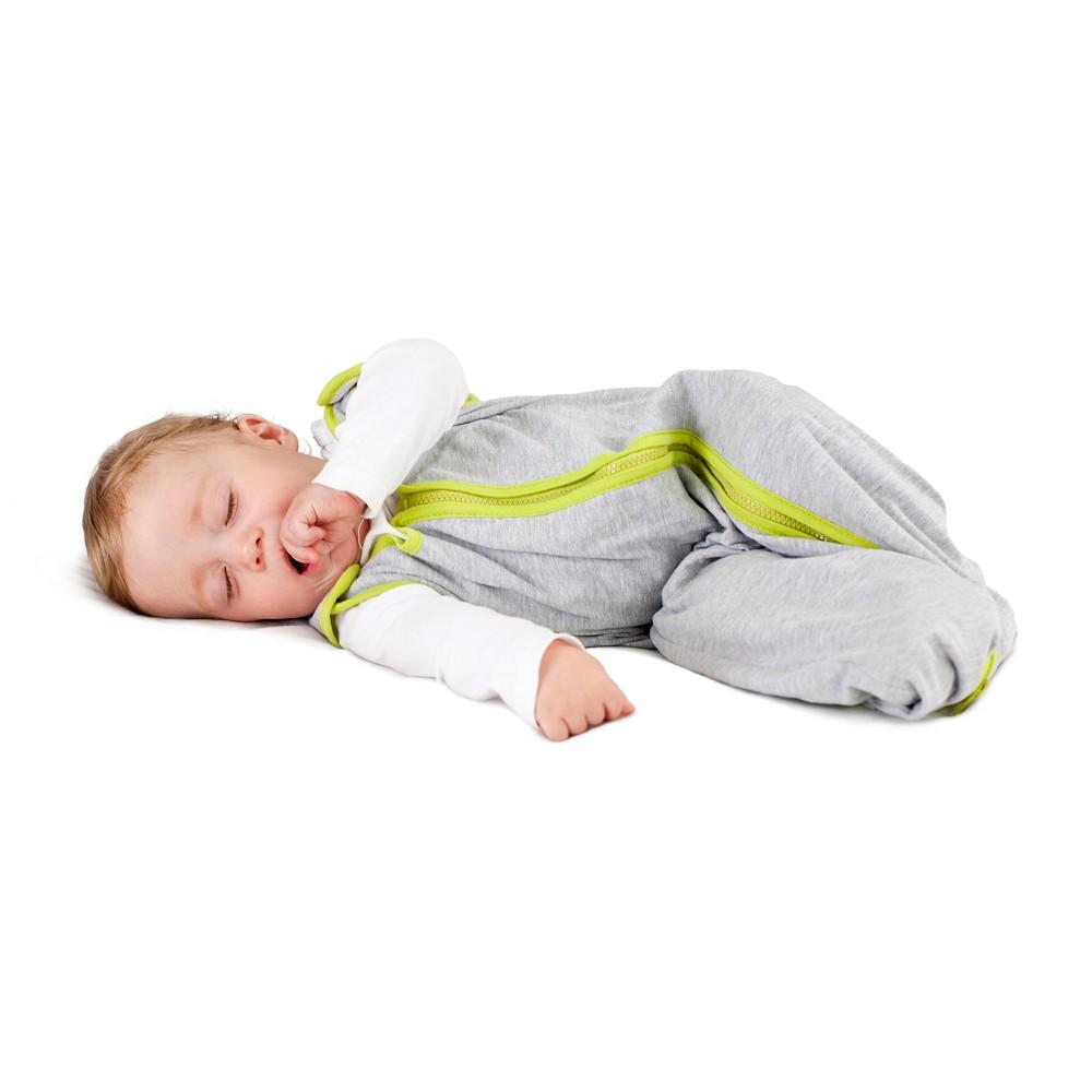 Top baby deedee Sleep Nest Lite Lime - M (6-18 Months) Gray Green
