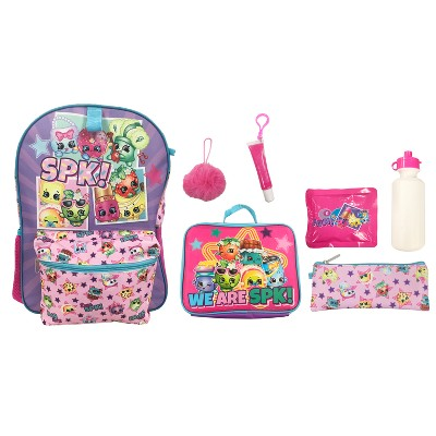 Shopkins 16\' Kids' Backpack - 7pc Set :