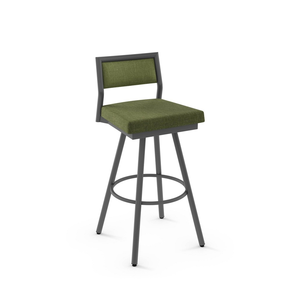 Cool 31 Jacob Bar Stool Greendark Gray Amisco Gmtry Best Dining Table And Chair Ideas Images Gmtryco