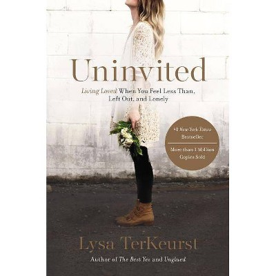 Uninvited: Living Loved When You Feel Less Than, Left Out, and Lonely (Paperback) by Lysa TerKeurst