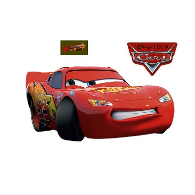 Cars Mcqueen 3pc Large Wall Accent Stickers Set - Disney..