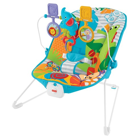Fisher-Price Animal Kingdom Baby Bouncer - image 1 of 18