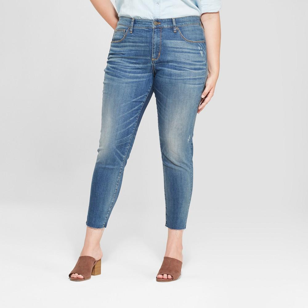 Women's Plus Size Jeggings - Universal Thread Medium Wash 24W, Blue
