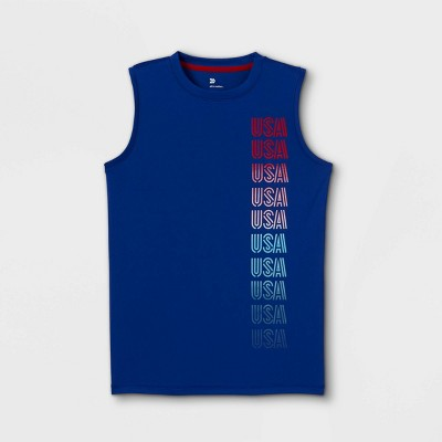 Boys' Sleeveless Graphic T-Shirt - All in Motion™