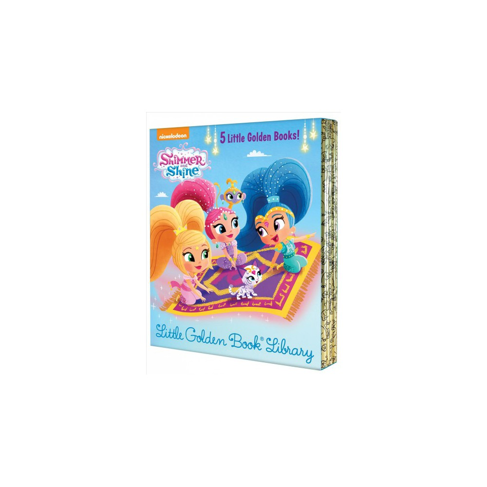Shimmer and Shine Little Golden Book Library - (Shimmer and Shine) (Hardcover)