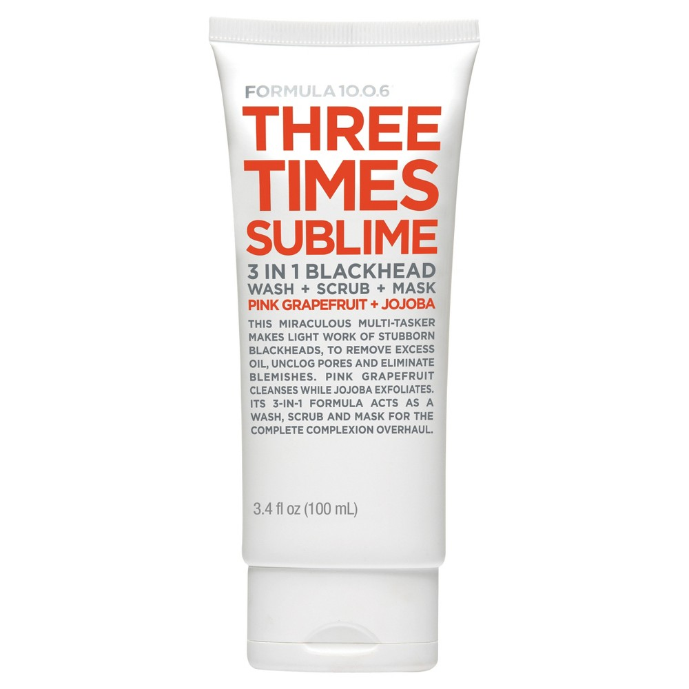 Formula 10.0.6 Three Times Sublime Cleanser Mask - 3.4oz