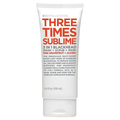 Formula 10.0.6 Three Times Sublime Cleanser Mask - 3.4oz - image 1 of 1