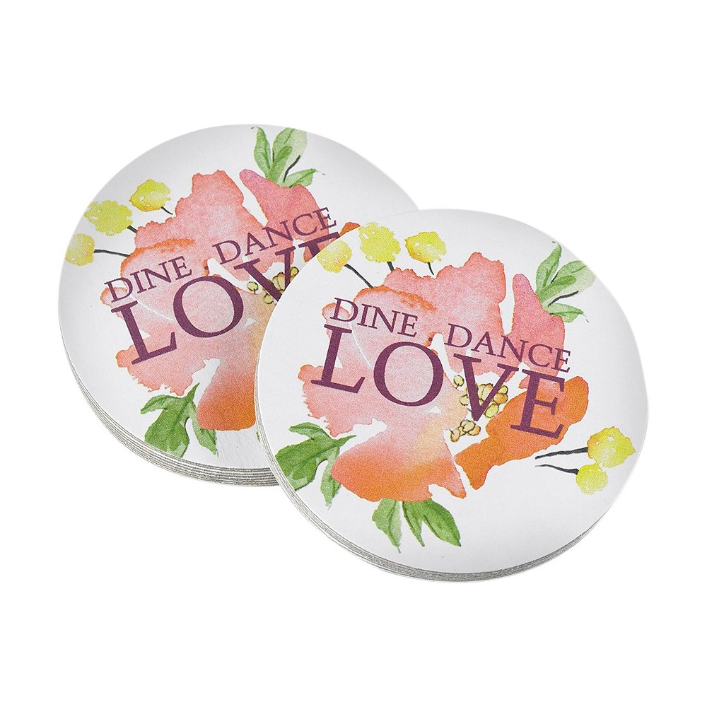Image of Floral Forever Coasters, Coasters
