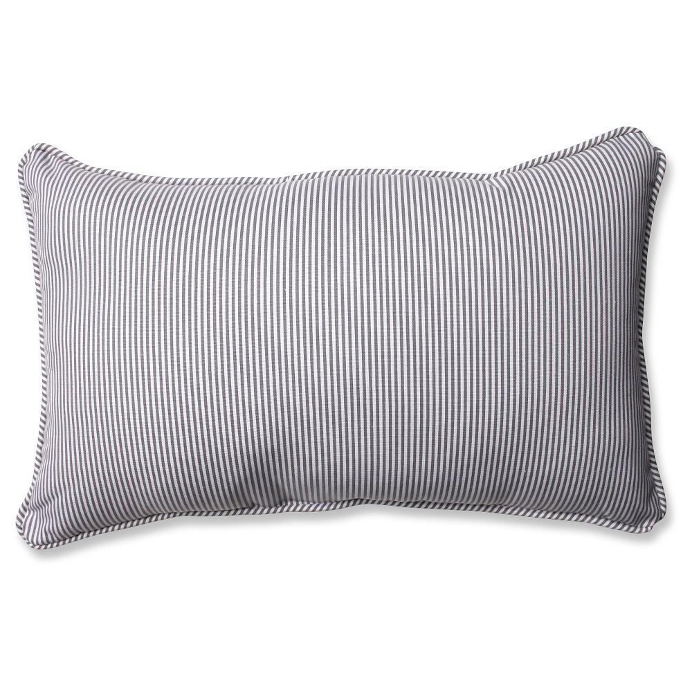 Best Shopping Pillow Perfect Oxford Rectangular Throw Pillow Gray 185x115