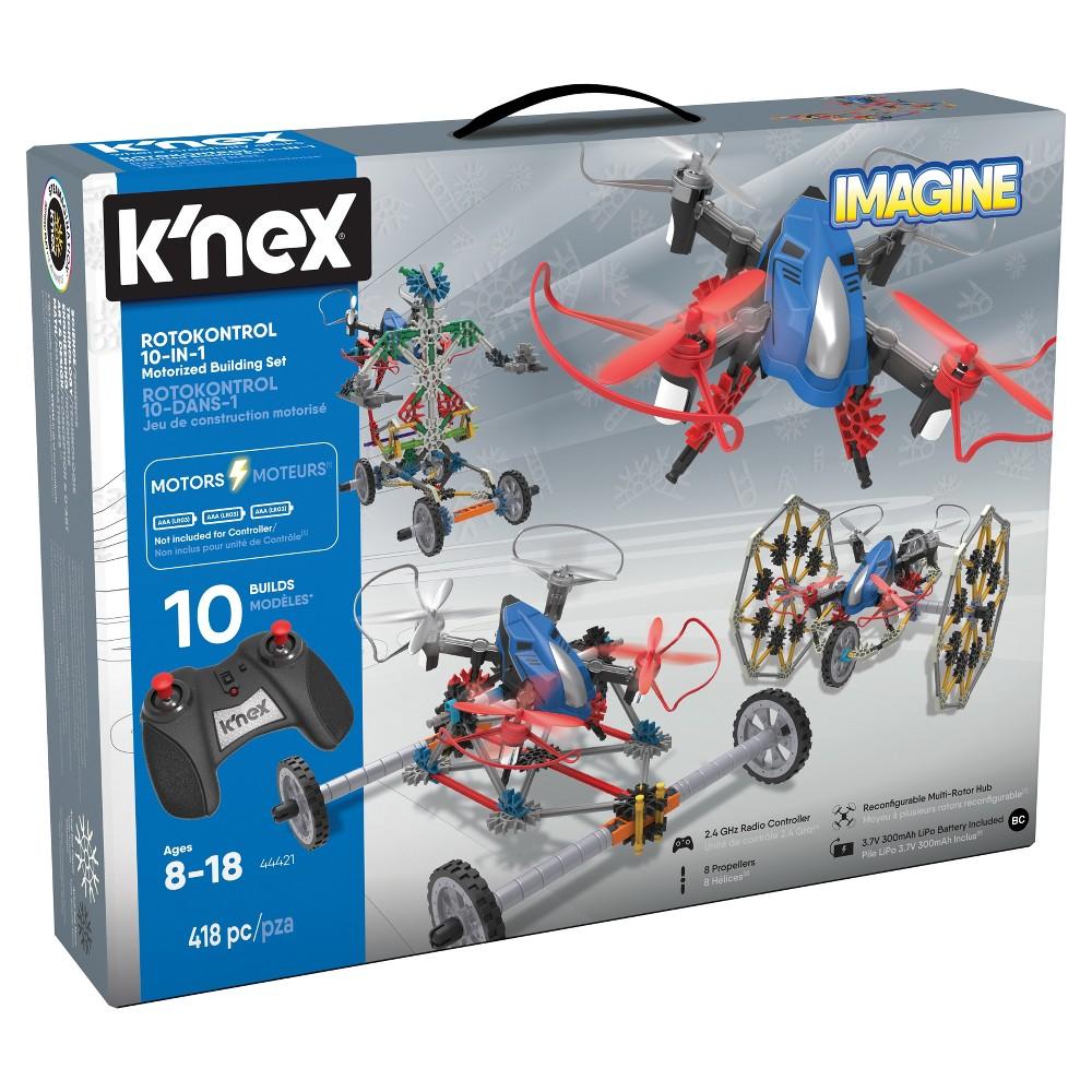 K'nex Rotokontrol 10-In-1 Building Set