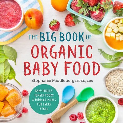 The Big Book of Organic Baby Food - by Stephanie Middleberg (Paperback)