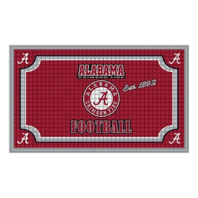 Alabama Crimson Tide Embossed Welcome Mat - 18 x30