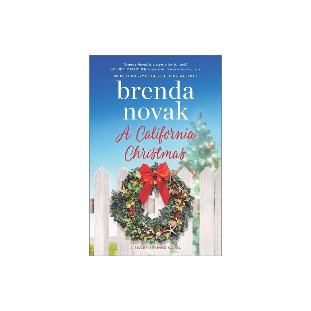 A California Christmas Silver Springs 7 By Brenda Novak Hardcover
