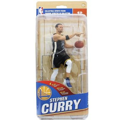 7629bd965fd Golden State Warriors McFarlane NBA Ser 32 Figure  Stephen Curry (Black  Jersey)