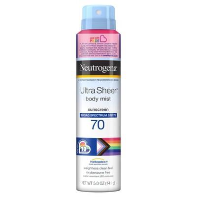 Neutrogena Ultra Sheer Sunscreen Spray - SPF 70 - 5oz