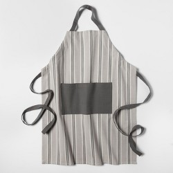 Stripe Apron Gray - Threshold™