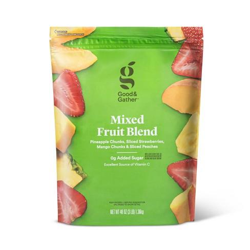 Mixed Frozen Fruit Blend - 48oz - Good & Gather™ - image 1 of 2
