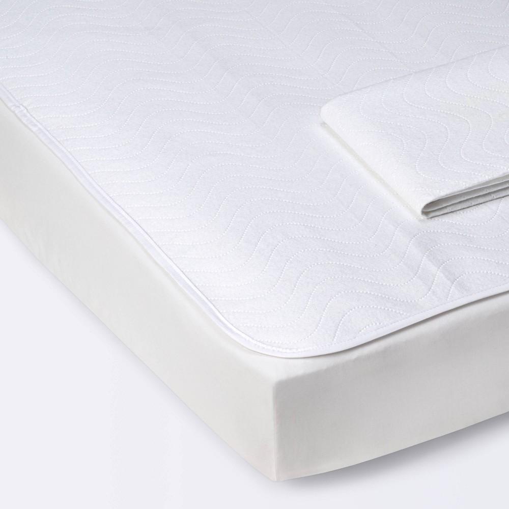 Multi Use Fleece Liner Pads With Waterproof Liner Cloud Island 8482 2pk