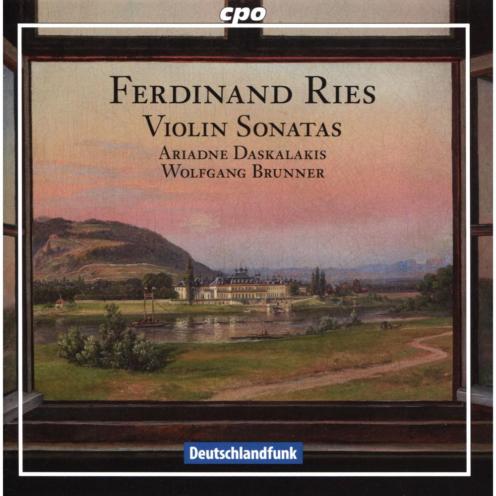 Ariadne Daskalakis - Ries:Violin Sonatas (CD)