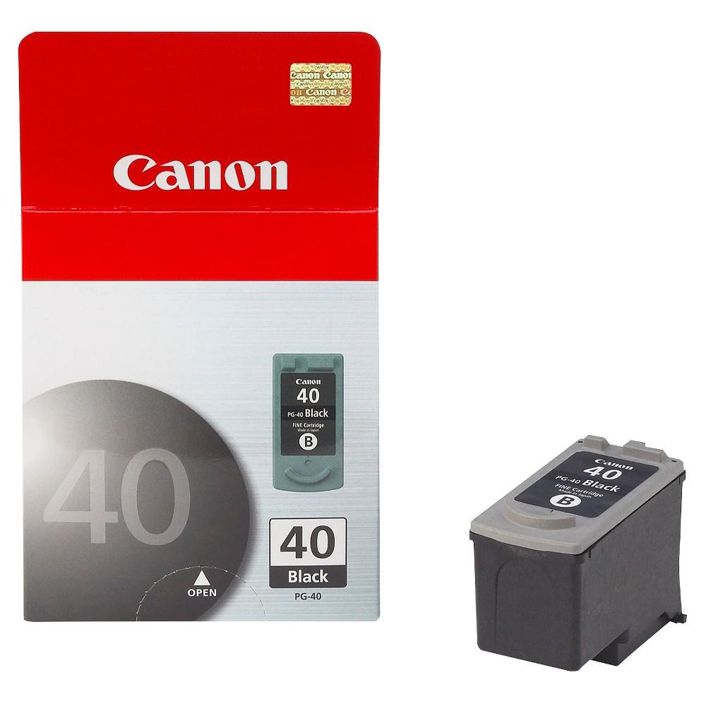Canon PG-40 Single Ink Cartridge - Black (0615B015), Black (40)