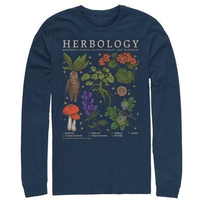 Men's Harry Potter Hogwarts Herbology Long Sleeve Shirt