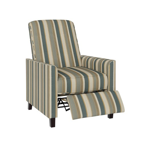 Evy Pushback Recliner Chair Coastal Blue - ProLounger