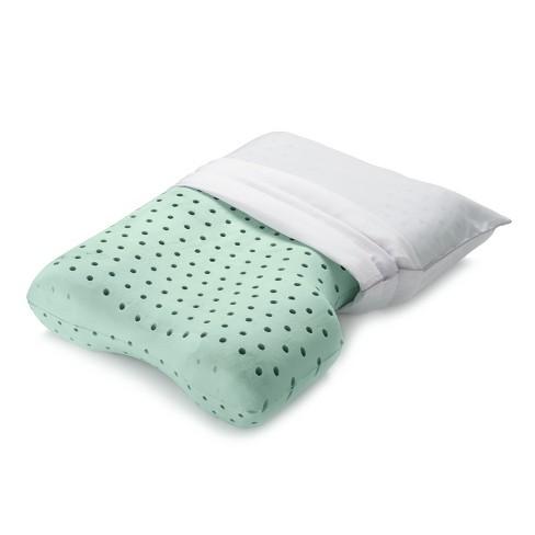 17b7393e8042 Memory Foam Contour Pillow – Authentic Comfort® : Target