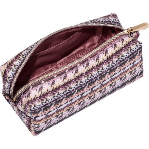 b817d59d67f9 Sonia Kashuk™ Cosmetic Bag Large Pencil Case Broken Houndstooth   Target