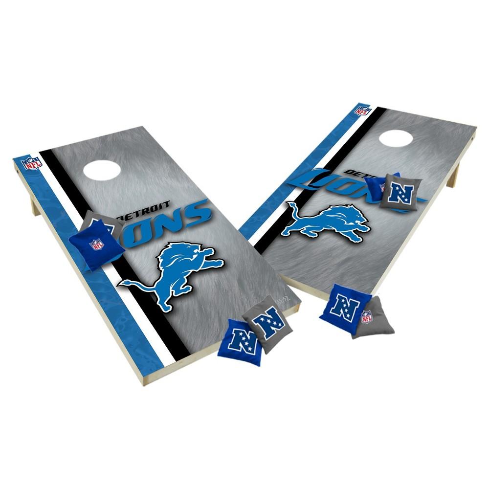 NFL Detroit Lions Wild Sports Tailgate Toss 2x4 Platinum Shield