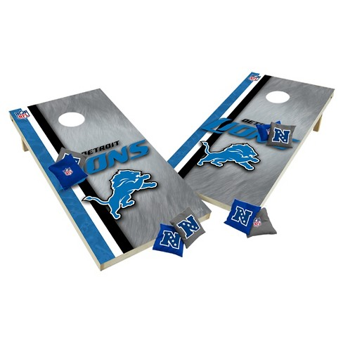NFL Detroit Lions Wild Sports Tailgate Toss 2x4 Platinum Shield - image 1 of 1