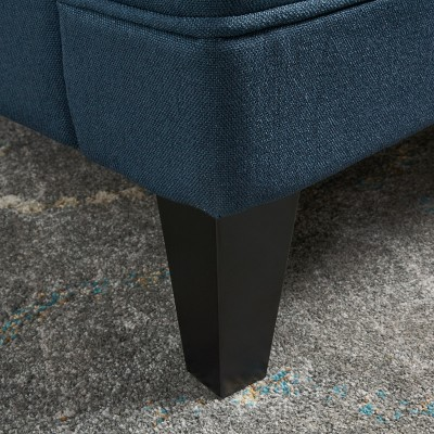 Anthea Club Chair - Navy - Christopher Knight Home : Target