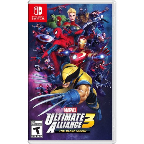 Marvel Ultimate Alliance 3: The Black Order - Nintendo Switch - image 1 of 4