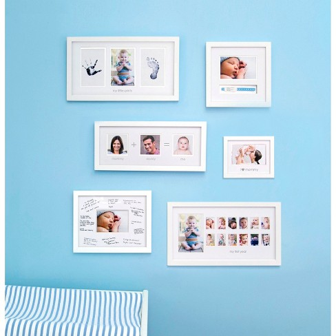 Pearhead Babyprints Photo Frame White Target