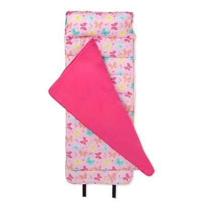 Wildkin Butterfly Garden Pink Original Nap Mat