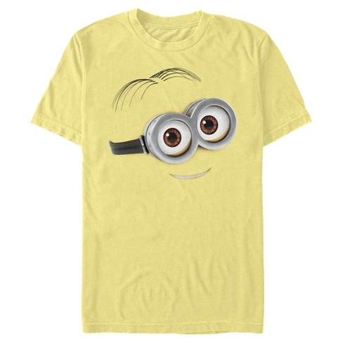 Men's Despicable Me Minions Dave Sweet Smile Big Face T-Shirt - image 1 of 1