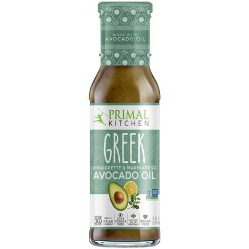 Primal Kitchen Dairy-Free Greek Vinaigrette with Avocado Oil  - 8oz - image 1 of 4