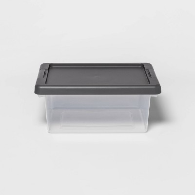 Small Clear Latching Storage Bin - Made By Design™
