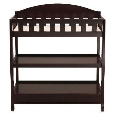 Delta Children® Infant Changing Table with Pad - Dark Chocolate
