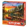 Springbok Cabin Evening Sunset Jigsaw Puzzle 1000pc - image 2 of 2
