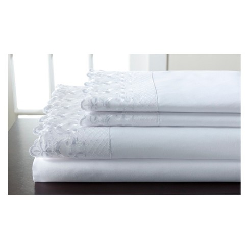 Hotel Lace Microfiber Sheet Set - image 1 of 1