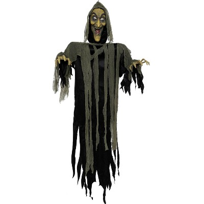 """72"""" Halloween Animated Witch"""